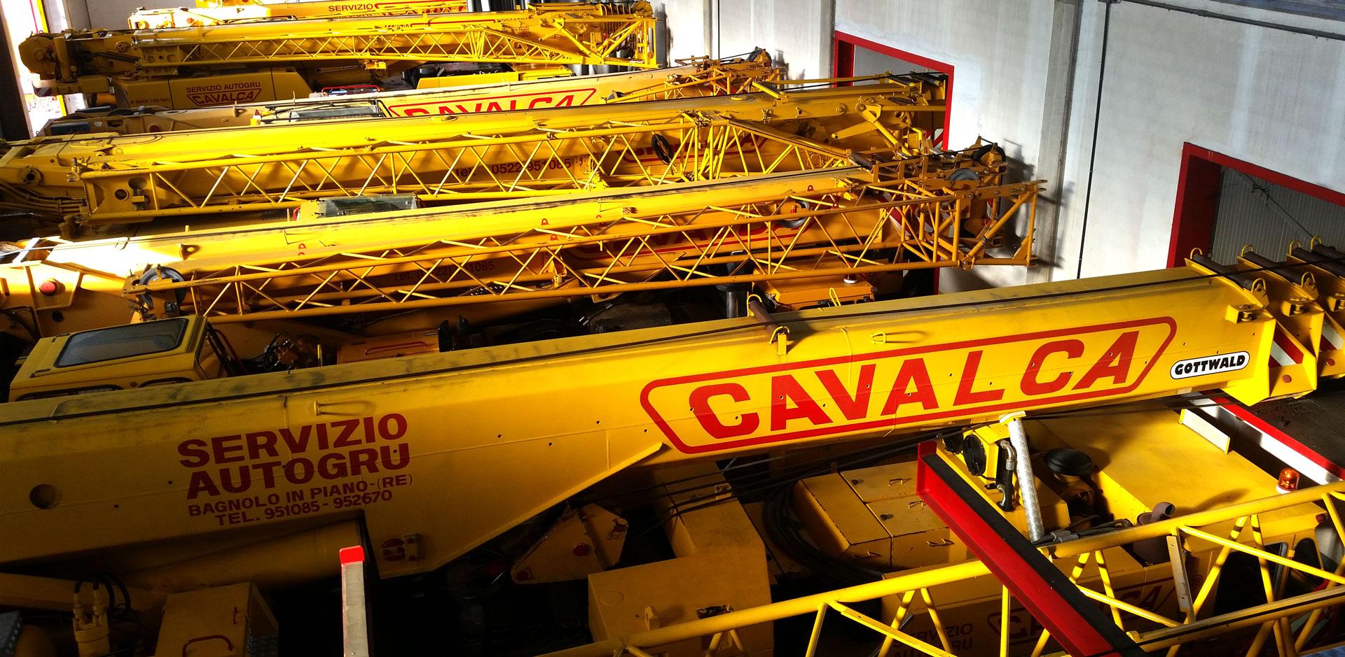 Sollevamenti fino a 12 tonnellate - Cavalca Autogru