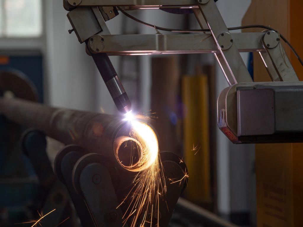 movimentazione di macchinari industriali