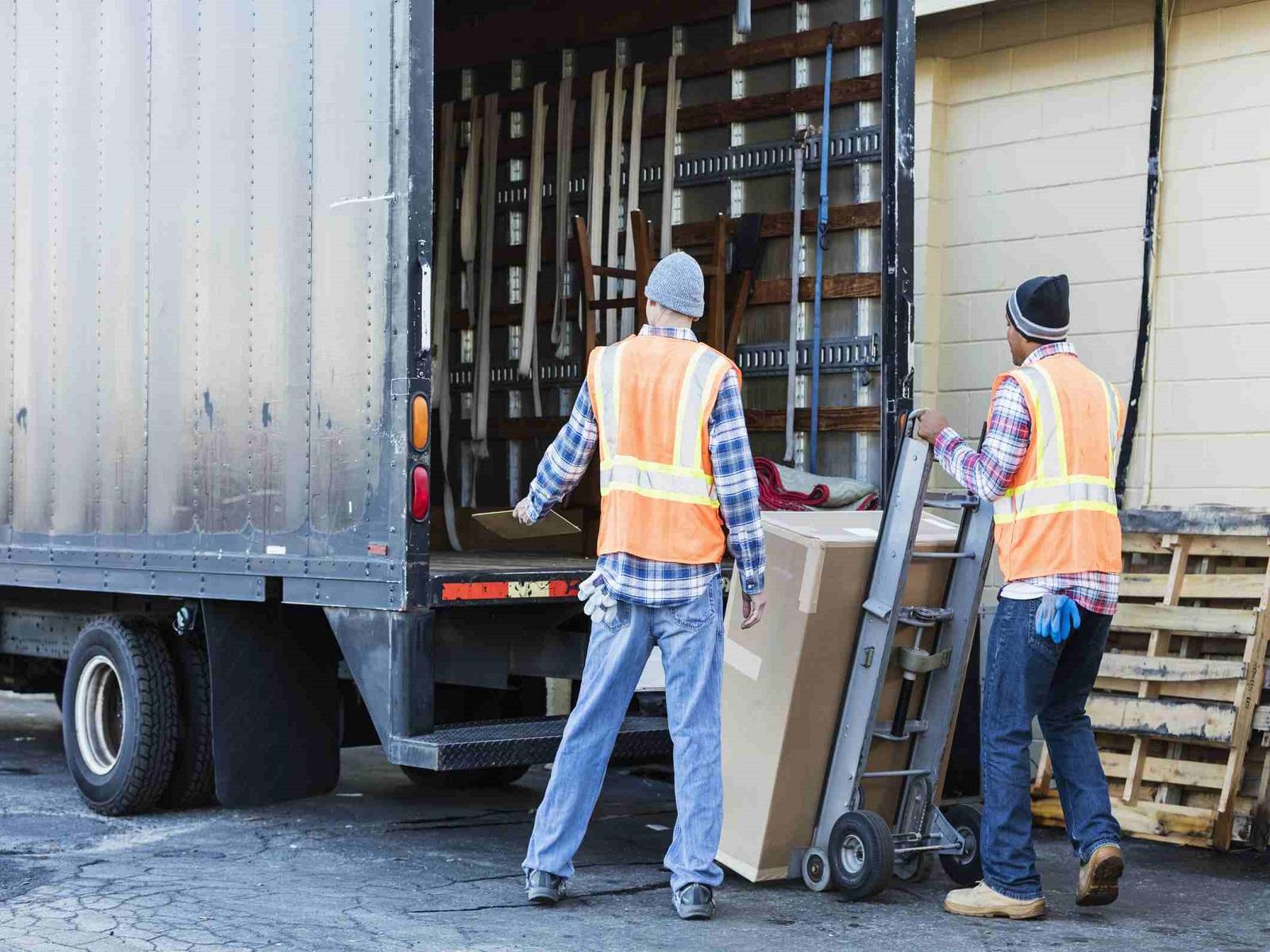 aree di carico e scarico merci