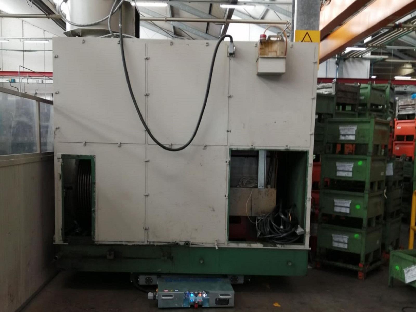 ralla elettrica Archimede per spostamento merci in magazzino